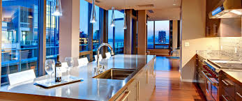 Kitchen - The Bravern Penthouses, Bellevue, WA 98004