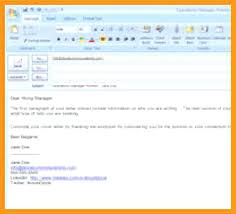 How To Send Resume Via Email Sample Sending Resume By Email Sample