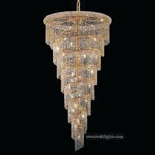 swarovski crystal chandelier staircase chandeliers lighting we specialize in making light blue earrings
