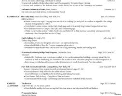 resume sample for college students still in college  resume