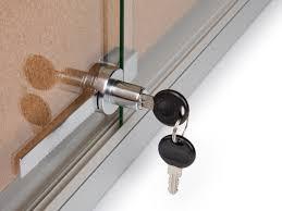 barrel lock for sliding door