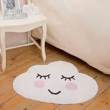sweet dreams cloud rug white