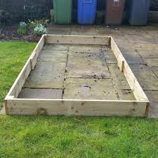 raised beds deluxe timber vegetable