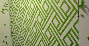 wall designs with paintDIY Modern Wall Design With Painters Tape  Hometalk