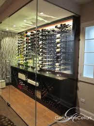 peg system metal wine racking by genuwine cellars