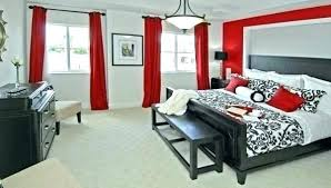Red And Black Bedroom Ideas Black White Grey Bedroom Red Black White Grey  Bedroom Medium Size