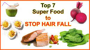 top 7 super food to stop hair fall