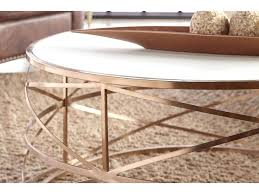 rose gold round coffee table antique brushed rose gold round coffee table