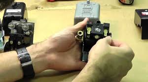 how to adjust and wire a pressure switch how to adjust and wire a pressure switch