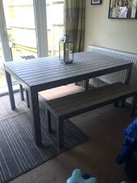 ikea outdoor dining table singapore traditional mahogany upholstery rustic bamboo to inches salon sectionals wall desks