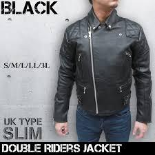men s cow leather jacket uk pad double riders jacket 3568
