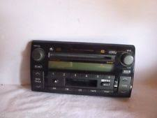toyota cd radio 02 04 toyota camry jbl radio 6 cd cassette face a56820 fp41915