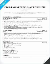 Civil Engineer Fresher Resume Pdf Luxury Resume Sample For Civil Delectable Resume Of Civil Engineer Fresher