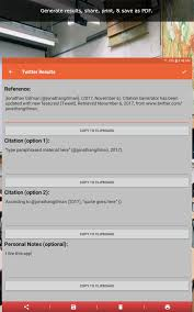 Amazoncom Citation Generator Appstore For Android