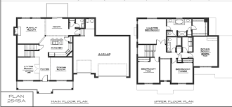 Modern Story House Floor Plans And Modern Two Story House
