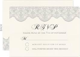 Response Cards For Weddings Reply Cards For Wedding Under Fontanacountryinn Com