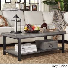 industrial look furniture. Create A Swanky Living Space With This Cyra Industrial Style Cocktail Table. Featuring Reclaimed, Look, Two-tiered Table Is Perfect For Look Furniture