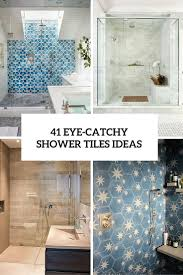 Shower Tiles Ideas 41 cool and eyecatchy bathroom shower tile ideas digsdigs 4708 by xevi.us