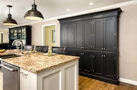 wall pantry black wall of pantry cabinets in and white island built of shaker inset cabinets wall pantry