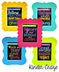 Classroom Rules In Frames