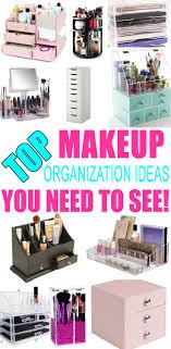 best makeup organization ideas