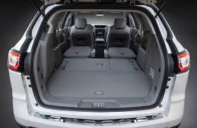 2017 Chevrolet Traverse Cargo Space | The News Wheel