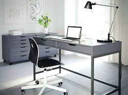 cool gray office furniture. Gray Office Desk Furniture Home Decorating With Cool Featuring Black Modern Light . U