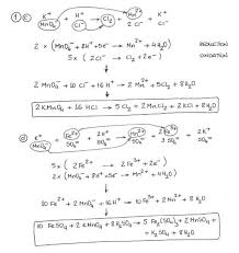 redox reaction by ion electron method