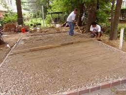 installing a paver patio diy