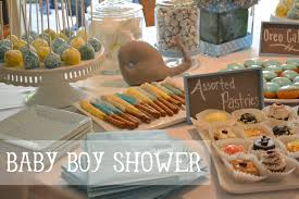 whale baby shower for nina and collin