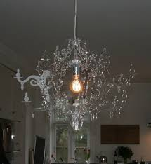 red chandelier perspex lovely acrylic chandelier design inspiration home designs module 11