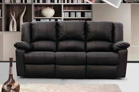 3 seater leather recliner sofa 3