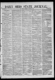 Daily Ohio State journal (Columbus, Ohio : 1841), 1844-01-25 page 1 - The  Ohio State Journal -