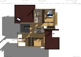 4 bedroom maisonette modern juja type house plans in kenya