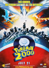 Pokemon: The Movie 2000 (1999)   Pokemon movies, Pokemon 2000, Pokemon