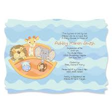 noahs ark baby shower ideas for baby shower party. Noah\u0027s Ark - Personalized Baby Shower Invitations Noahs Ideas For Party R