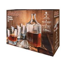 6pc craft spirits whiskey decanter set 3d 56683 hpr jpg