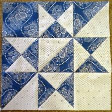 Best 25+ Two color quilts ideas on Pinterest   Half square ... & Little Quilts, Alternate Block - Blue & White Adamdwight.com