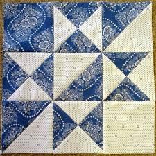 Best 25+ Quilt block patterns ideas on Pinterest | Patchwork ... & Little Quilts 2nd Sat. April 2014 Alternate Block - Blue & White Adamdwight.com