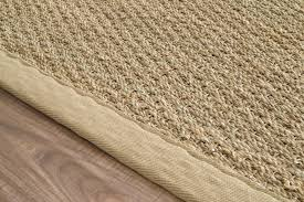 maui seagrass with border rug at rugs usa