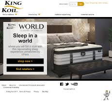 mattress king commercial. Kingkoil Website History Mattress King Commercial