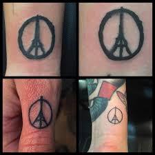Tetování Které Ctí Oběti útoku Z Paříže Punditschoolnet