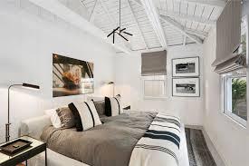 modern guest bedroom ideas. Modern Guest Bedroom With Chandelier Exposed Beam In Laguna Ideas M