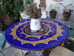 how to make a mosaic table top for outdoors diy mosaic tile kit diy broken tile mosaic patio table top f79fc57b147bd55d