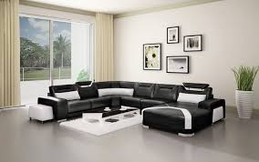 black couch living room ideas innovative modern