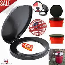 portable black brand honey bucket