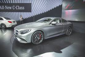 2014 New York: 2015 Mercedes-Benz S63 AMG Coupe stuns New York ...