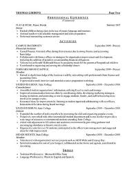 Sample Resume Account Executive Resume Examples Internship 1 Resume Examples Sample Resume