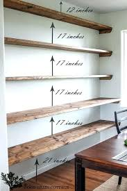 unfinished wall shelves floating wall shelves for books modern ways to use them inside interior floating unfinished wall shelves
