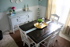 wood kitchen table ideas